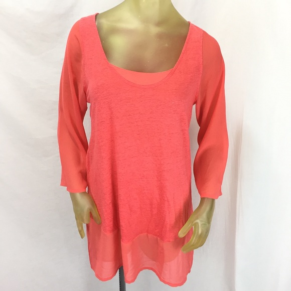 bf5947e8cd Soft Surroundings Women's Tunic Top Orange Size M.  M_5c032995e944ba2ec795e885